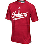 adidas Men's Indiana Hoosiers Crimson Sideline Training T-Shirt