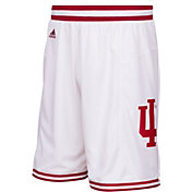 adidas Men's Indiana Hoosiers White Premier Basketball Shorts
