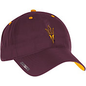 adidas Men's Arizona State Sun Devils Maroon Sideline Coaches Adjustable Slouch Hat