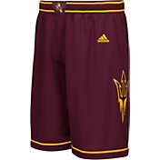 adidas Men's Arizona State Sun Devils Maroon Premier Basketball Shorts