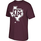 adidas Men's Texas A&M Aggies Maroon Huge Logo T-Shirt