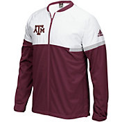 adidas Men's Texas AM Aggies Maroon On-Court Basketball Jacket