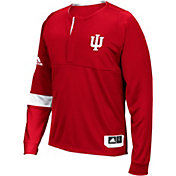 adidas Men's Indiana Hoosiers Crimson Shooter Long Sleeve Shirt