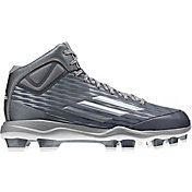 adidas Men's PowerAlley 3 Mid TPU Baseball Cleats