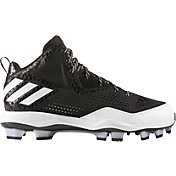 adidas Men's PowerAlley 4 TPU Mid Baseball Cleats