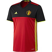 adidas Men's Euro 2016 Belgium Replica Home Jersey