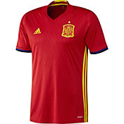 adidas Men's Euro 2016 Spain Replica Home Jersey