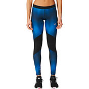 adidas Women's Cold Weather Chevron Tonal Tights