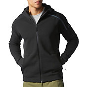 adidas Men's ZNE Full Zip Knit Hoodie