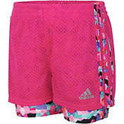 adidas Toddler Girls' Double Dutch Shorts