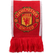 adidas Manchester United Red Scarf