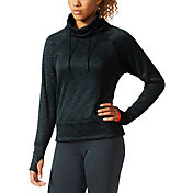 adidas Women's climaheat Mock Neck Pullover