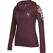 adidas Women's Texas A&M Aggies Maroon Tunnel Neck Long Sleeve Shirt