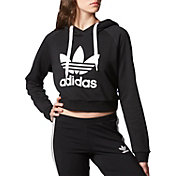 adidas Originals Women's Cropped Graphic Hoodie
