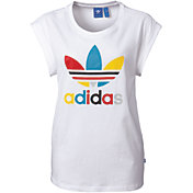 adidas Originals Women's Boyfriend Roll-Up Sleeve T-Shirt
