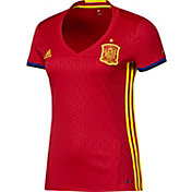 adidas Women's Euro 2016 Spain Replica Home Jersey
