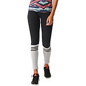 adidas Women's 3-Stripes Crew Leggings