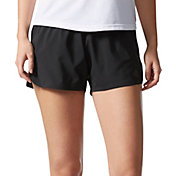 adidas Women's Woven Side Slit Running Shorts