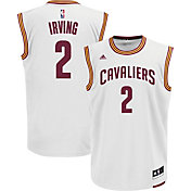adidas Youth Cleveland Cavaliers Kyrie Irving #2 Home White Replica Jersey
