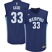 adidas Youth Memphis Grizzlies Marc Gasol #33 Road Navy Replica Jersey