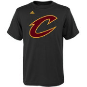 adidas Youth Cleveland Cavaliers Black T-Shirt