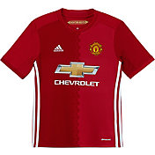 adidas Youth Manchester United 16/17 Replica Home Jersey