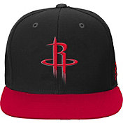 adidas Youth Houston Rockets Black Adjustable Snapback Hat