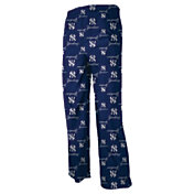 adidas Youth New York Yankees Navy Logo Pajama Pants