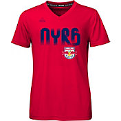 adidas Youth Girls' New York Red Bulls climalite T-Shirt