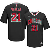 adidas Youth Chicago Bulls Jimmy Butler #21 Alternate Black Replica Jersey