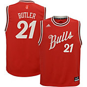 adidas Youth Chicago Bulls Jimmy Butler #21 Christmas Day Replica Jersey