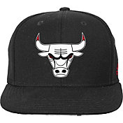 adidas Youth Chicago Bulls Black Chainlink Adjustable Snapback Hat