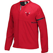 adidas Youth Chicago Bulls On-Court Red Jacket