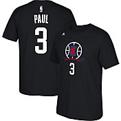adidas Youth Los Angeles Clippers Chris Paul #3 Black T-Shirt