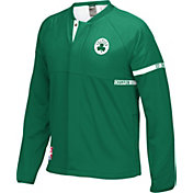 adidas Youth Boston Celtics On-Court Kelly Green Jacket