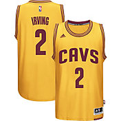 adidas Youth Cleveland Cavaliers Kyrie Irving #2 Alternate Gold Swingman Jersey