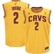 adidas Youth Cleveland Cavaliers Kyrie Irving #2 Replica Alternate Navy Basketball Jersey