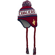 adidas Youth Cleveland Cavaliers Tassel Pom Knit Hat