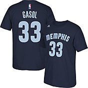 adidas Youth Memphis Grizzlies Marc Gasol #33 Navy T-Shirt