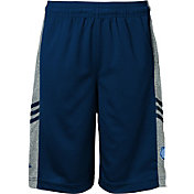 adidas Youth Memphis Grizzlies climalite Navy Surface Shorts