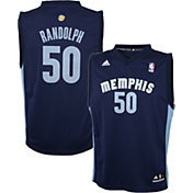 adidas Youth Memphis Grizzlies Zach Randolph#50 Road Navy Replica Jersey