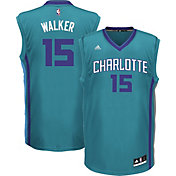 adidas Youth Charlotte Hornets Kemba Walker #15 Alternate Teal Replica Jersey