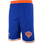 adidas Youth New York Knicks Road Royal Replica Shorts