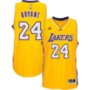 adidas Youth Los Angeles Lakers Kobe Bryant #24 Home Gold Swingman Jersey