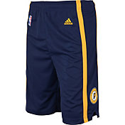adidas Youth Indiana Pacers Road Navy Replica Shorts
