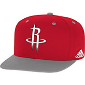 adidas Youth Houston Rockets On-Court Adjustable Snapback Hat