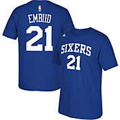 adidas Youth Philadelphia 76ers Joel Embiid #21 Royal T-Shirt