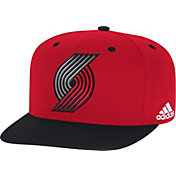 adidas Youth Portland Trail Blazers On-Court Adjustable Snapback Hat