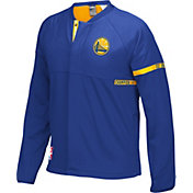 adidas Youth Golden State Warriors On-Court Royal Jacket