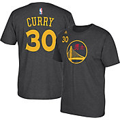 adidas Youth Golden State Warriors Steph Curry #30 Grey T-Shirt